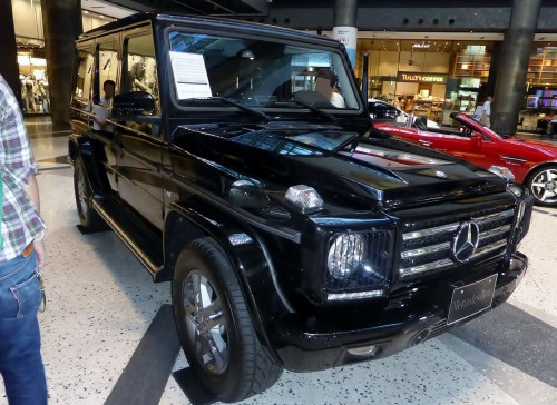 メルセデス ベンツ G550 W463型