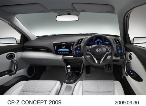 ホンダ CR-Z CONCEPT 2009 初代 インパネ