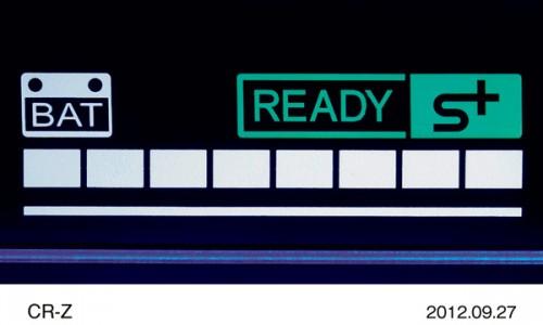 ホンダ CR-Z 2012年 PLUS SPORTシステムメーター