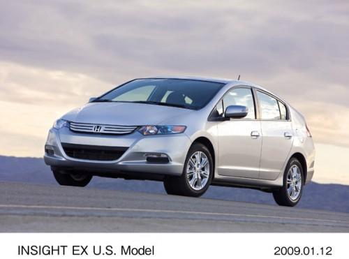 ホンダ インサイト EX 北米仕様 2代目 2009年型