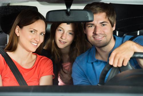 車内 家族 運転