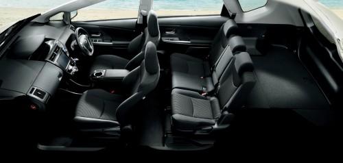 トヨタ プリウスα S ツーリングセレクション 2014年 内装