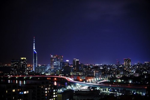 愛宕神社 福岡 夜景