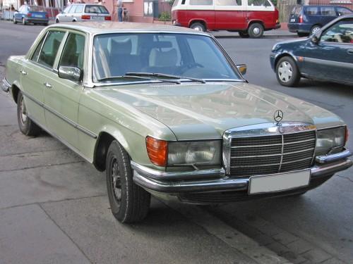メルセデス・ベンツ 初代 Sクラス W116 (1972-1980)