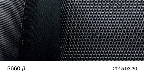 ホンダ S660 β 2015年型 スポーツファブリックシート