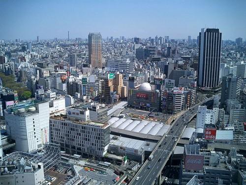 渋谷駅周辺全景