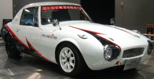 トヨタスポーツ800 EV