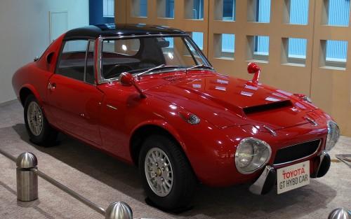 トヨタスポーツ800 ガスタービンハイブリッド