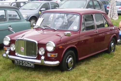 バンデン プラス プリンセス Mk-III 1300 1973年