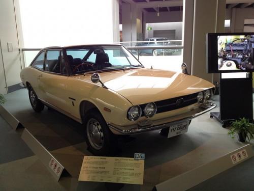 いすゞ 117クーペ 1970年型