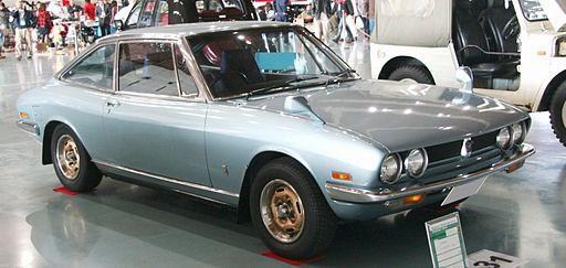 いすゞ 117 クーペ XE 第2期 1973-1976 正面