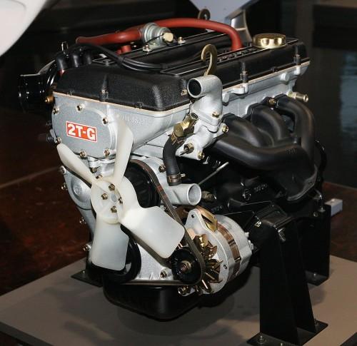 トヨタ 2T-G型エンジン