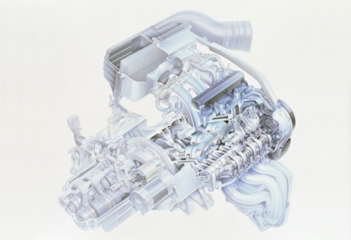ホンダ ビート 初代 1991年型 MTREC エンジン