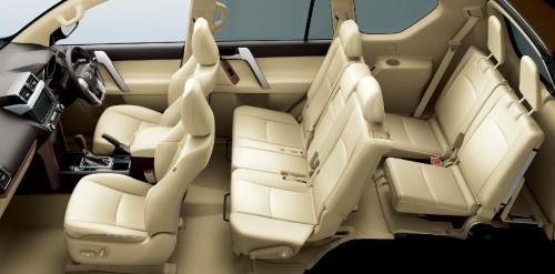 トヨタ ランドクルーザープラド TX Lパッケージ 2013年 内装