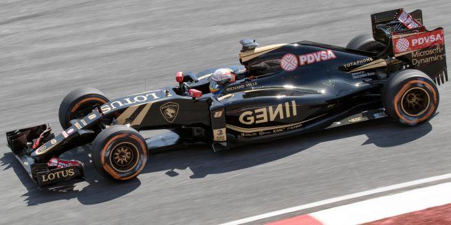 ロータス新型F1マシンE23ハイブリット
