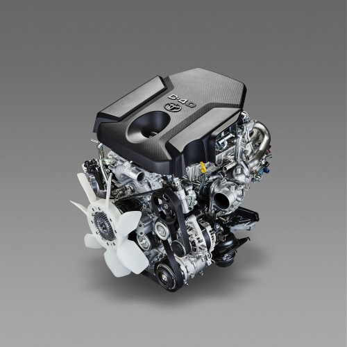 トヨタ ディーゼルエンジン 1GD-FTV