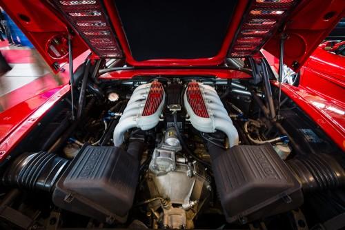 フェラーリ F512 M テスタロッサ V12エンジン