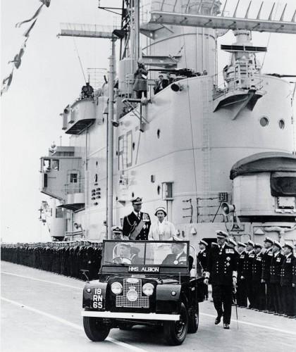 1957年 エリザベス女王