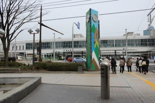 富山駅 正面