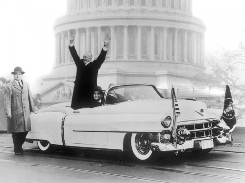 アイゼンハワー第34代大統領のキャデラック・エルドラド大統領モデル(1959年)