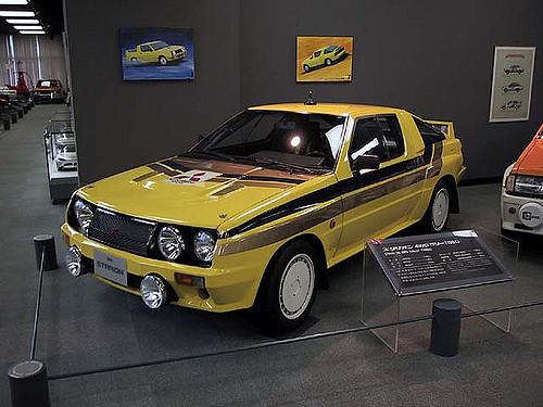 三菱 スタリオン 4WDラリー 1983年