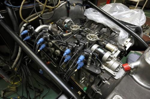 マツダ 787B エンジン
