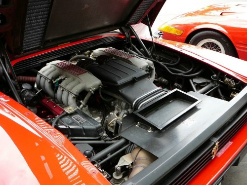 1991年型 フェラーリ・テスタロッサ V12エンジン