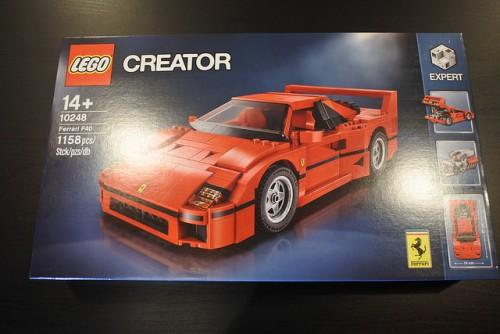 フェラーリF40 レゴ