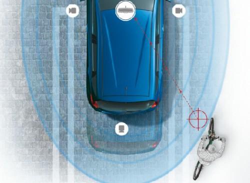 日産 ノート MOD(移動物検知)機能付きアラウンドビューモニター