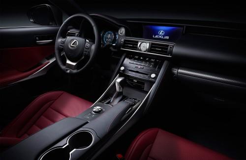 トヨタ レクサスIS200 内装