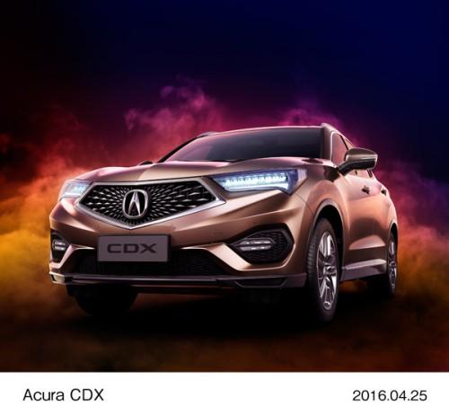 2016年 北京モーターショー アキュラ CDX