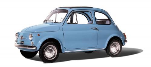 フィアット 500 ヌォーヴァ 1957年型