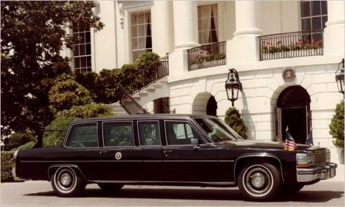 キャデラック フリートウッド 1983年 レーガン大統領使用車