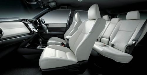 トヨタ カローラフィールダー HYBRID G W×B 2015年 内装