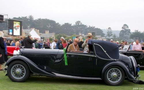 ベントレー 3.5リットル 1934年