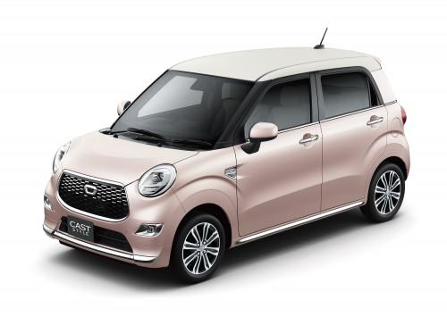 ダイハツ キャストスタイル 2015年型 ピンク