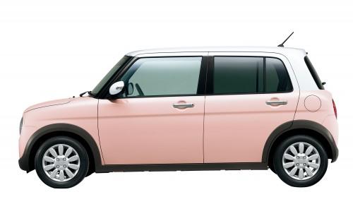 スズキ ラパン 2015年型 X ピンク