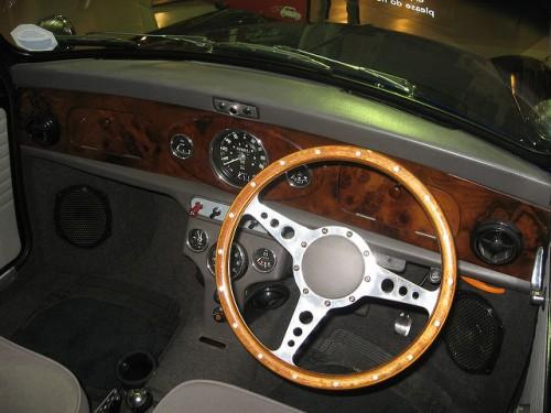 イノチェント ミニ 1989年型 ダッシュボード メーターパネル