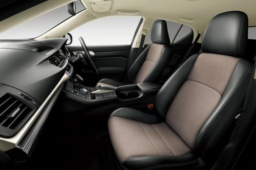 トヨタ レクサス CT200h 2015年 内装