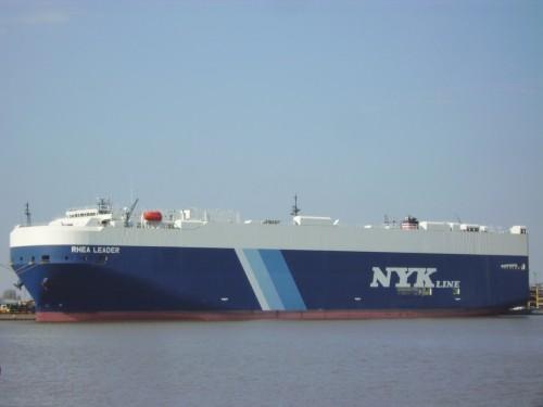 自動車運搬船 レア・リーダー(RHEA LEADER) 63,004総トン