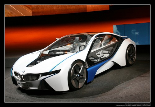 BMW i8 コンセプトカー