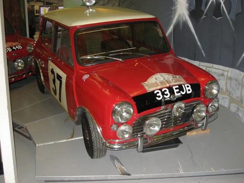 1963年 モーリス ミニ ミニクーパー モンテカルロ