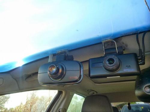ドライブレコーダー設置
