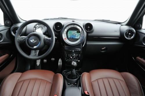 ミニ クーパー S ペースマン コックピット 2012年型