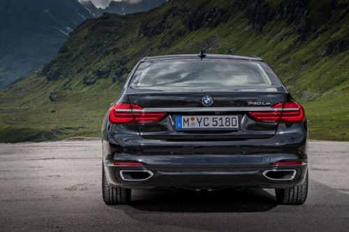 BMW 7シリーズ リア 2015年年型