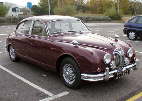ジャガー Mk2 3.4 1963年