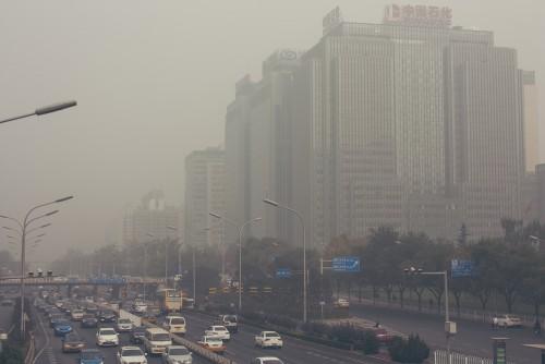 排気ガスによる大気汚染