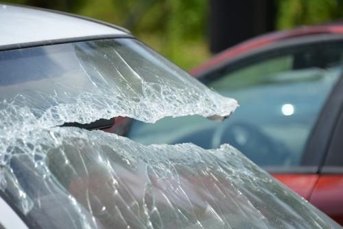フロントガラス 破損