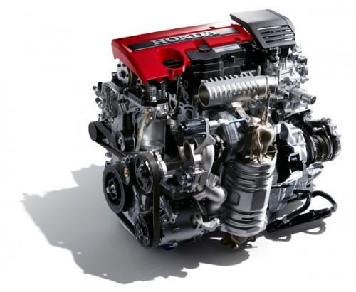 直噴2.0L VTEC TURBOエンジン シビック タイプR 2015年