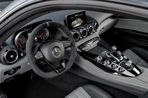 メルセデス AMG GT C 内装 2017年型
